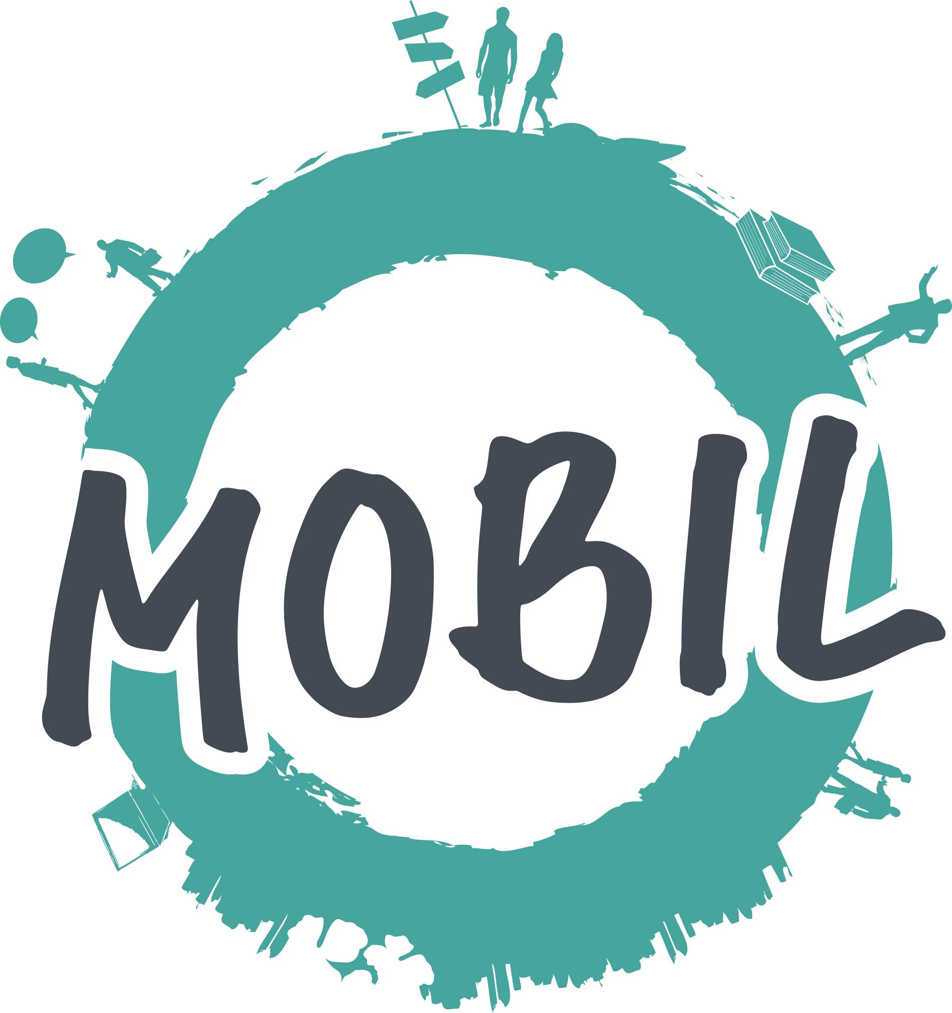 Logo Mobil vert